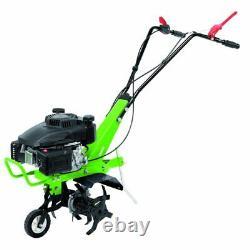 Draper 141cc Petrol Cultivator/Tiller Allotment Rotavator Garden Power Tools
