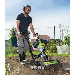 Draper Petrol 42. Cc Cultivator/Tiller for Allotments & Landscaping 32329