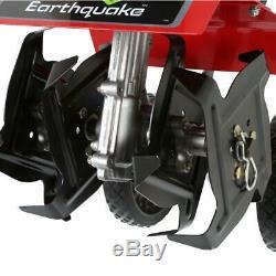 EARTHQUAKE MC43 Cultivator Lawn Garden Tiller With Dethatcher & Edger Kit