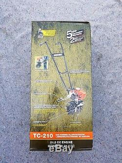 ECHO TC-210 9 21.2 cc Gas Tiller/ Cultivator Front-Tine Forward Rotating New