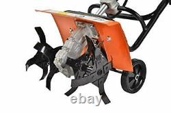 ESkde TI52-S8 52cc Petrol Garden Tiller Cultivator Rotovator Rototiller with