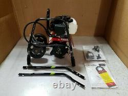 Earthquake 31635 MC33 Mini Tiller Cultivator with 33cc 2-Cycle Viper Engine, Red