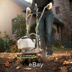 Earthquake Cultivator 40cc 4-Cycle Adjustable Wheels Lift Variable Speed Control