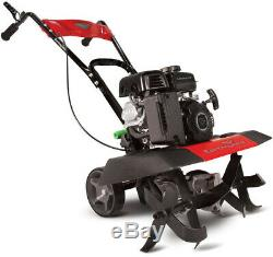Earthquake Front Tine Tiller 99 cc Gas Pull Recoil Start Compact Cultivator