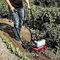Earthquake Garden Tiller Rototiller Cultivator Yard Raised Bed Front Tine Gas