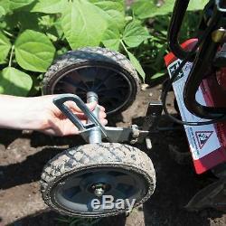 Earthquake MC43 Cultlivator Lawn Garden Gas Tiller with Dethatcher Attachment Kit