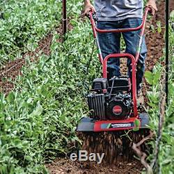 Earthquake Versa Tiller Cultivator Rototiller 2-In-1 Garden Tool 99 cc Gas