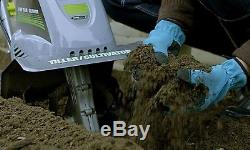 Earthwise Corded Electric 8.5-Amp Tiller Cultivator Power Tool Garden Yard Lawn