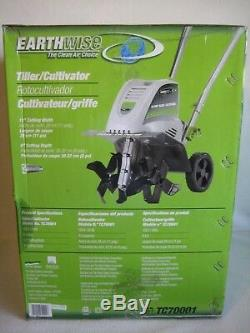Earthwise Rototiller TC70001 Corded Electric 8.5-Amp Tiller Cultivator