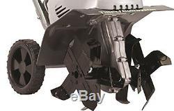 Earthwise Tc70001 120 V Electric Tiller 11Dual 4 Blade Garden Cultivator Strong
