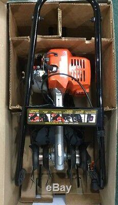 Echo Gas Powered Tiller/cultivator 21.2 CC Engine-tc-210 Brand New In Box