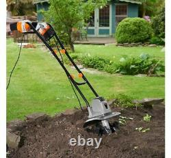 Electric 1050W Tiller Garden Soil Cultivator/Rotavator Gardening Tool
