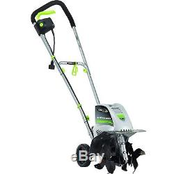 Electric Garden Rototiller Tiller Cultivator Lawn 8.5 Power Yard Tools Equipment