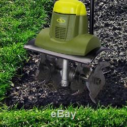 Electric Garden Tiller And Cultivator, 14-Inch 6.5-Amp Corded Lawn Farm Digger