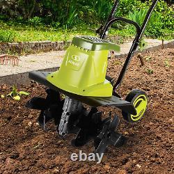 Electric Garden Tiller Cultivator 16 Inch 12 Amp Yard Tool Sun Joe Rototiller