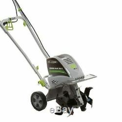 Electric Garden Tiller Rototiller Cultivator Yard Raised Bed Front Tine Tool NEW