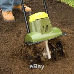 Electric Tiller Cultivator Cleaner Home Garden Powerful 6.5 Amp 14 in. Sun Joe