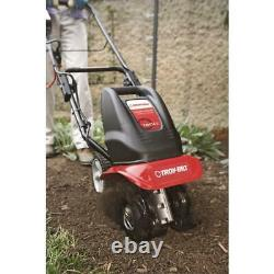 Electric Tiller Cultivator Corded Lightweight Powerful Forward Rotating Tines