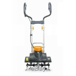 Electric Tiller Cultivator Rotavator Garden Lawn Machine 2000W