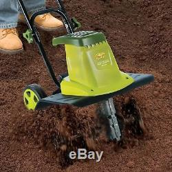 Electric Tiller Cultivator Rototiller Garden Dirt Yard Lawn Soil Corded Digger