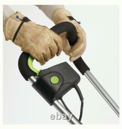 Electric Tiller Garden Cultivator 8.5 Amp Motor Corded 4 Dual Blade Steel Tines