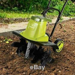 Electric Tiller Garden Cultivator Rototiller Yard Lawn Power Tools Equipment New
