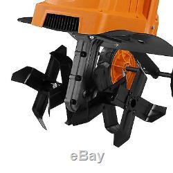 Electric Tiller MAX Power Ergonomic Garden Rototiller Cultivator 12.5 Inch