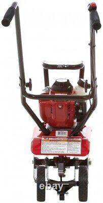 FG110 HONDA 9in. Gas Mini Tiller-Cultivator 4-Cycle Middle Tine Forward-Rotating