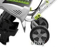 GARDEN ELECTRIC TILLER CULTIVATOR 8.5 Amp Corded Dual Blade Steel Tines