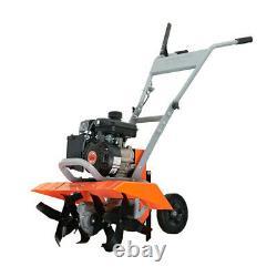 GARDEN FRONT TINE TILLER CULTIVATOR 11-21 98cc Gas Adjustable Self-Propelled