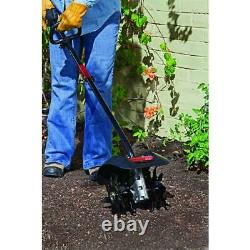 Garden Cultivator Attachment Add-On 9 in. Turning Soils Outdoor Yard Planting