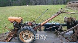 Garden Mark Montgomery Ward Simplicity 2 Wheel Tractor with Mower & Cultivator