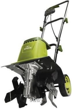 Garden Tiller/Cultivator 12-in 8-Amp Electric with 3-Position Wheel Adjustment
