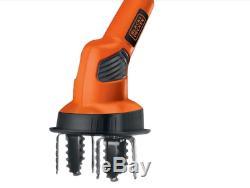 Garden Tiller Cultivator 20V Li-Ion Lightweight Adjustable Handle With Battery