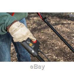 Garden Tiller Cultivator Cordless Battery Operated Brushless Motor Switch Start