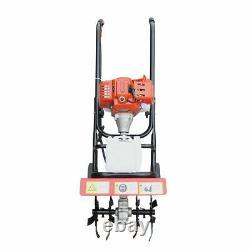 Garden Tiller Rototiller Cultivator Tilling Tool 2-Stroke 52CC 1.9KW BEST SELL