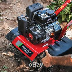 Gas Garden Rototiller Tiller Cultivator Lawn Power Yard Tools Equipment
