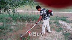 Grass tool 52cc Brush Cutter Trimmer Lawn Mower Cropper Garden cultivator tiller