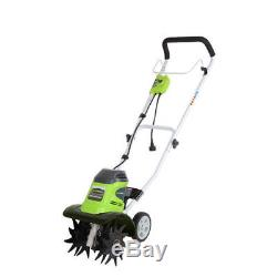 Greenworks 10 8 Amp Electric Cultivator 27072 New