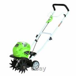 Greenworks 27062 40 Volt G-MAX 10 inch Battery Included Cordless Cultivator