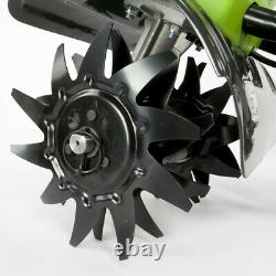Greenworks 40V G-MAX Li-Ion 10 in. Cultivator (BT) 27062A New