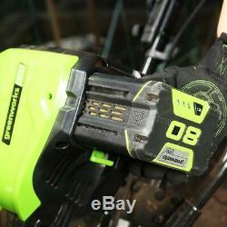 Greenworks 80V Cultivator Garden Tiller Cordless Battery Powered 10 In TL80L00