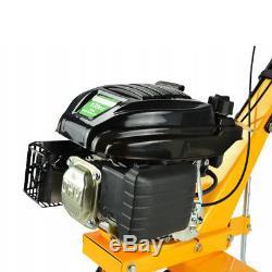 HQ 6,5 HP 4 stroke Petrol Tiller Cultivator Rotavator Garden Lawn Machine