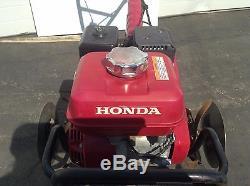 Honda FC600 Tiller Commercial Power Garden Cultivator Rototiller Electric Rotary