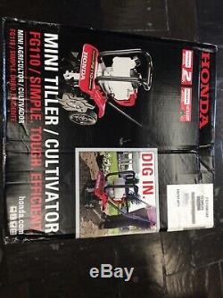 Honda FG110 9 25 cc 4-Cycle Mini Tiller Cultivator
