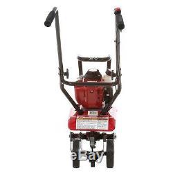 Honda Gas Mini Tiller-Cultivator 25cc GX25 4-Stroke Engine Pull Cord Startup