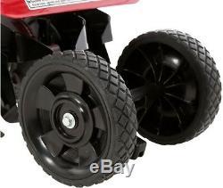 Honda Gas Mini Tiller-Cultivator 4-stroke 4-Tines Metal Wheel Forward-Rotating