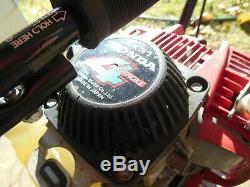 Honda Harmony Fg 100 Tiller Cultivator 4 Stroke Engine