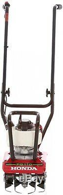 Honda Mini Tiller Cultivator Gas 9 in. 25cc 4-Cycle Middle Tine Forward-Rotating