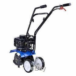 Landworks Super Duty Mini Tiller Cultivator 3HP 52cc 2 Stroke Gas Motor